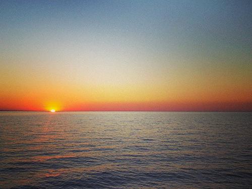 sunset lake pontchartrain